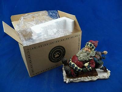 """Boyd's """"St. Nick with Parker...Wide Load"""" Carvers Choice #370006 Mint Free Ship!"""