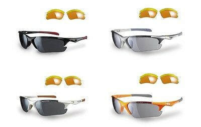 Sunwise Twister Golf/cycling/cricket/triathlon Sunglasses (3 Lenses)