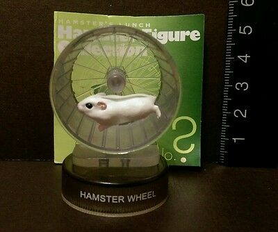 Kaiyodo Hamster's Lunch Part 1 Dzungrian Hamster Wheel SP Secret Figure Cute!!