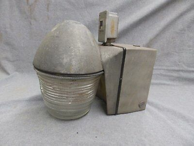 Vtg Industrial Sealed Sconce Wall Light Fixture Old Factory Steampunk 207-16