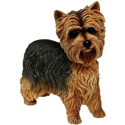 yorkie yorkshire terrier ornament figurine collectable leonardo collections gift
