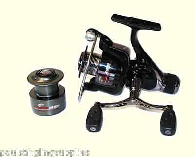 Coarse Feeder Spin Spinning Fishing Reel Grandeslam Advanced 4000 & Spare Spool