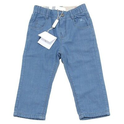 0463N jeans bimbo BURBERRY pantaloni boys kids pants trousers