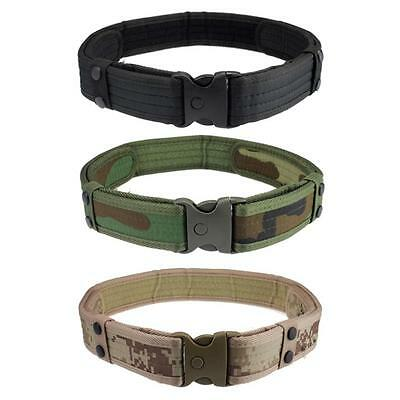 Hi-Quality Woodland Camo Waistband Tactical Hunting Outdoor Sports Field Belt