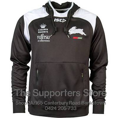 South Sydney Rabbitohs NRL 2016 ISC Players Squad Hoody Size S-5XL! BNWT's!