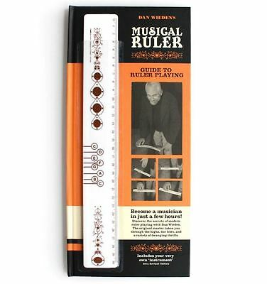 Suck Uk Musical Ruler With Guide Book Instrument Music Novelty Fathers Day Gift