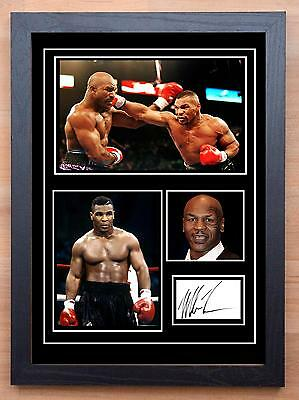 Mike Tyson Signed / Autographed And Framed Print