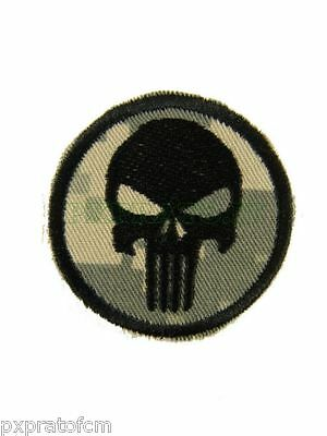 Patch SoftAir Punitore Punisher Mimetica Acu Toppa Militare Soft Air con  Velcro 01398ad12d7b
