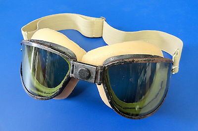 Vintage Skyways Flying Goggles- Chas. Fischer