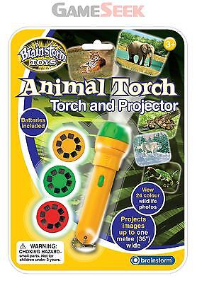 Animal Torch And Projector - Toys Brand New Free Delivery