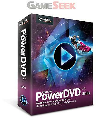 Cyberlink Powerdvd 13 Ultra (Pc) | Free Delivery Brand New