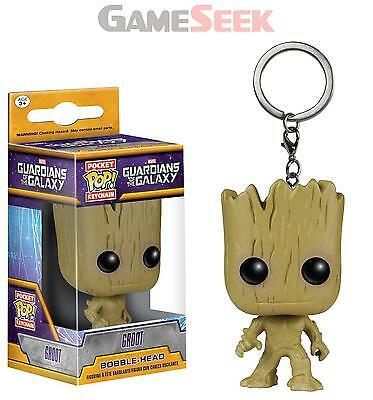 Pop Keychain - Guardians Of The Galaxy - Groot - Action Figures/figures New
