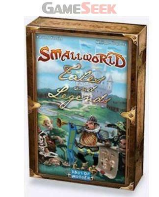 Small World - Tales And Legends - Games/puzzles Board Games Brand New