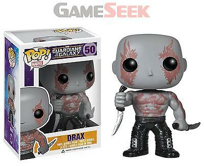 Pop! Guardians Of The Galaxy Drax Vinyl Figure - Action Figures Brand New