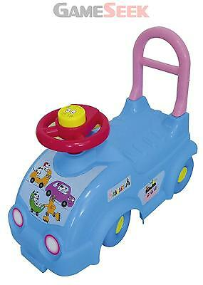 Barbapapa Kids Ride On Car With Push Bar (Obar49) - Toys Brand New Free Delivery