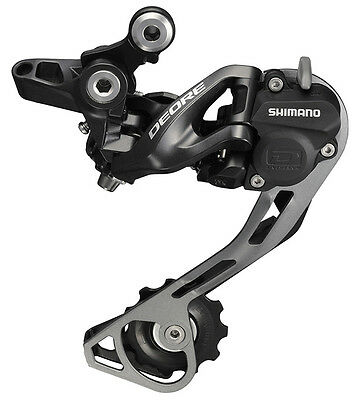 Shimano Deore RD-M615 SGS (Long Cage) 10-Speed Rear Derailleur, Shadow+ Design
