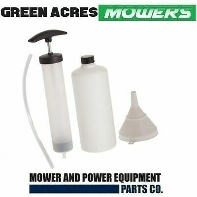 Lawn Mower Oil Pump Sucker Extractor Service Kit Sucks From Engine Dip Stick Hol