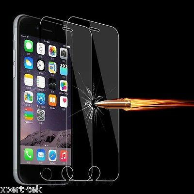 9H Hardness New Premium Real Screen Protector Tempered Glass Film For iPhone 6S
