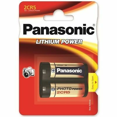 Panasonic Lithium Power 2CR5 6V Battery