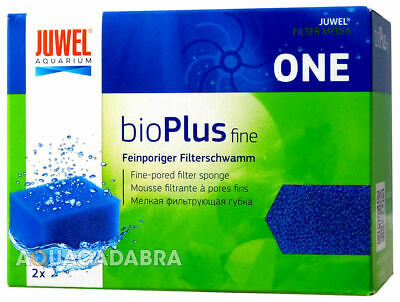 Juwel Bioflow One Filter Media Fine Bioplus Blue Sponge Aquarium Fish Tank