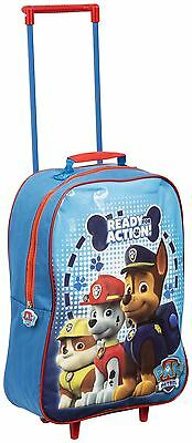 Paw Patrol Marshall Chase Rubble Children Kids Travel Trolley Bag