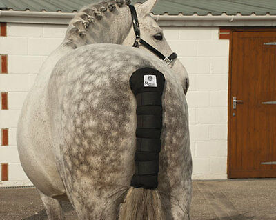 Rhinegold Cotton Quilted Tailguard With Velcro Fastenings Horse Tail Guard