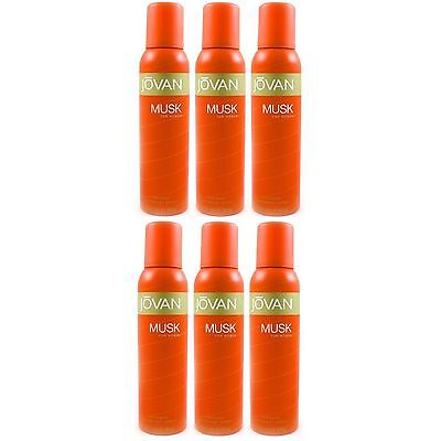 Jovan Musk For Woman Deospray 6 x 150ml