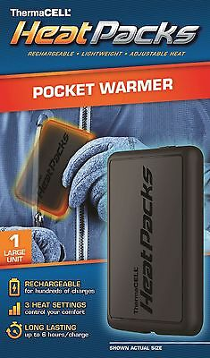 ThermaCELL Heat Pack Rechargeable Hand and Pocket Reusable Warmers Thermacell