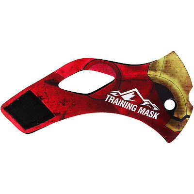 Elevation Training Mask 2.0 Red Iron (Red/Gold)