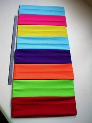 Lycra Headbands 2 1/4 wide Choose colors  VERY STRETCHY, SOFT, GREAT HEADBAND