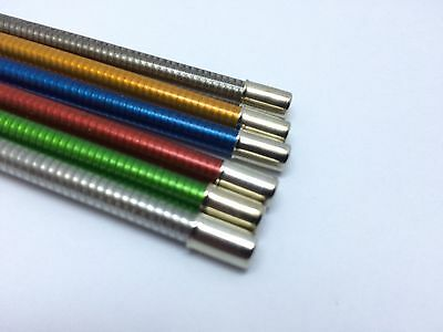 Brake Cable Outer Housing Vintage Metallic Colour Blue Red Green Grey Brown Gold