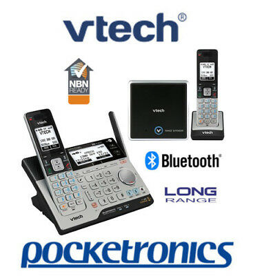 VTech 15850 TWIN Bluetooth Cordless Phone Answering Machine Handsfree NBN ok