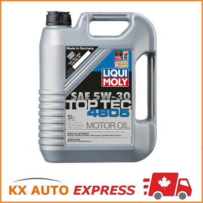 Liqui Moly Top Tec 4605 SAE 5W-30 Fully Synthetic Engine Oil 5L 2244