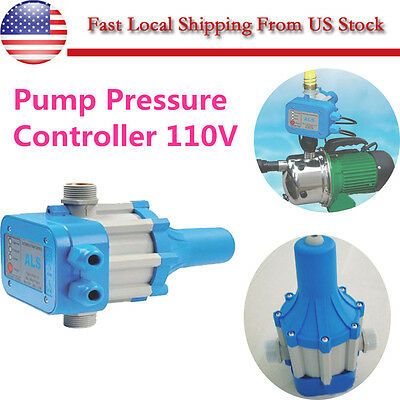 New Automatic Electronic Switch Control Water Pump Pressure Controller 110V US