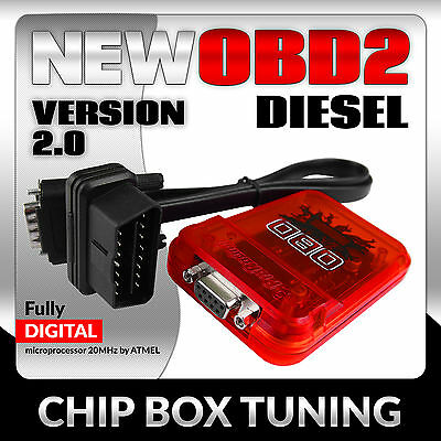 OBD2 Power Box TOYOTA HILUX D4D Diesel chip tuning Performance  ver2.0