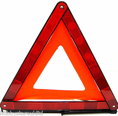 Large Warning Car Triangle Reflective Road Emergency Breakdown Safety Hazard New