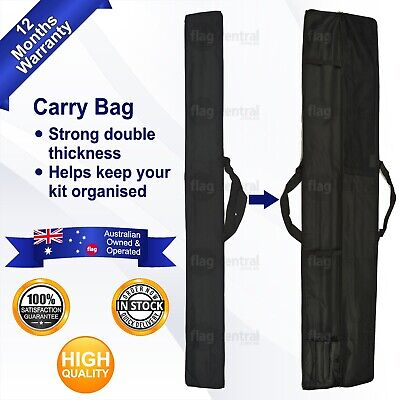 Flag Pole Carry Bag 150cm *Double Thickness *Handy *Easy to Use *Strong