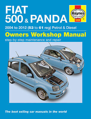 Fiat 500 & Fiat Panda 2004-2012 Haynes Manual 5558 NEW
