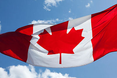 canada Indoor Outdoor Canadian FLAG Country 64 X 96 CM Maple Leaf Banner