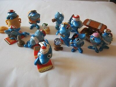 Kinder Serie Complete  *les Squalibaba*