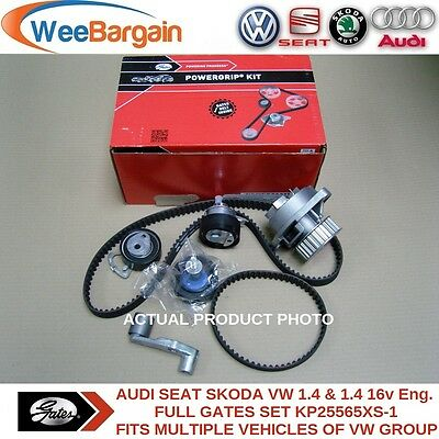 VW Golf IV V Polo Caddy Lupo 1.4 16v KP25565XS-1 Timing/Cam Belt Kit Water Pump