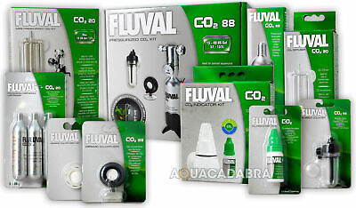 Fluval Pressureized Co2 Kit Mini System Fish Tank Plant Bubble Counter Diffuser