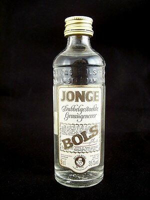 Miniature circa 1985 BOLS JONGE GRAANGENEVER  5cl Isle of Wine