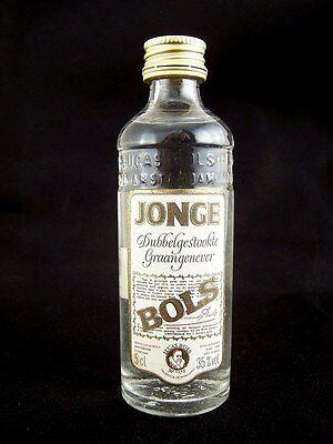 Miniature circa 1985 BOLS JONGE GRAANGENEVER  5cl Isle of Wine