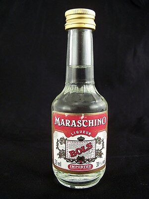 Miniature circa 1985 BOLS MARASCHINO LIQUEUR 35ml Isle of Wine