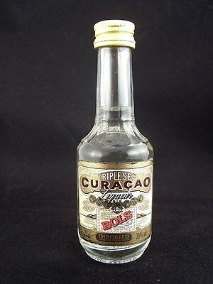 Miniature circa 1985 BOLS TRIPLE SEC CURACAO 35ml Isle of Wine