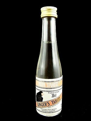 Miniature circa 1985 AVA TAHITI GINGER'S TAHITI 30ml Isle of Wine