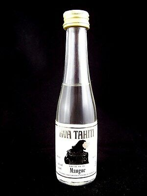 Miniature circa 1985 AVA TAHITI MANGUE EAU DE VIE 30ml Isle of Wine
