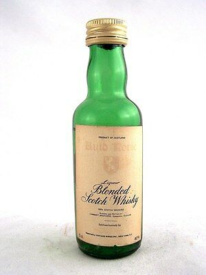 Miniature circa 1974 AULD RORIE SCOTCH WHISKY Isle of Wine