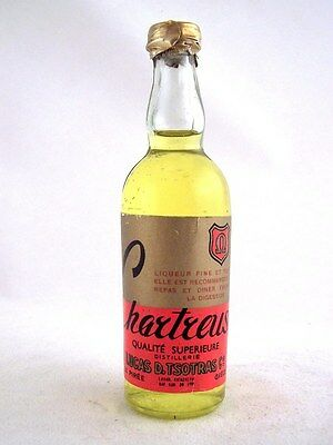 Miniature circa 1979 CHARTREUSE by TSOTRAS Isle of Wine